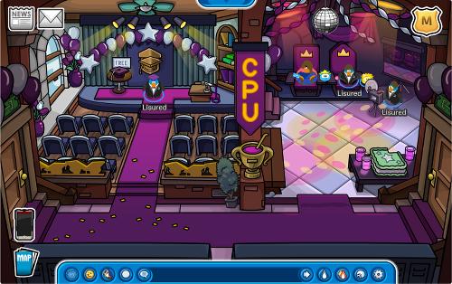Univerzita se ponořila do fialové