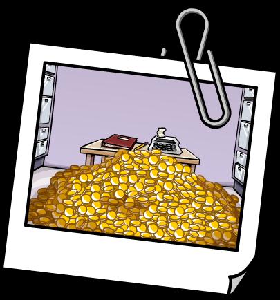 Trezor s penězi