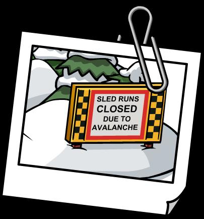 Sjezdovka uzavřena kvůli lavině