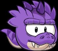 Fialový t-rex